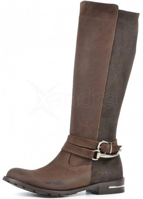 27be0bd46e Dámske hnedé čižmy CA96 - Olivia Shoes - kabelkyaobuv.sk - Xandra ...