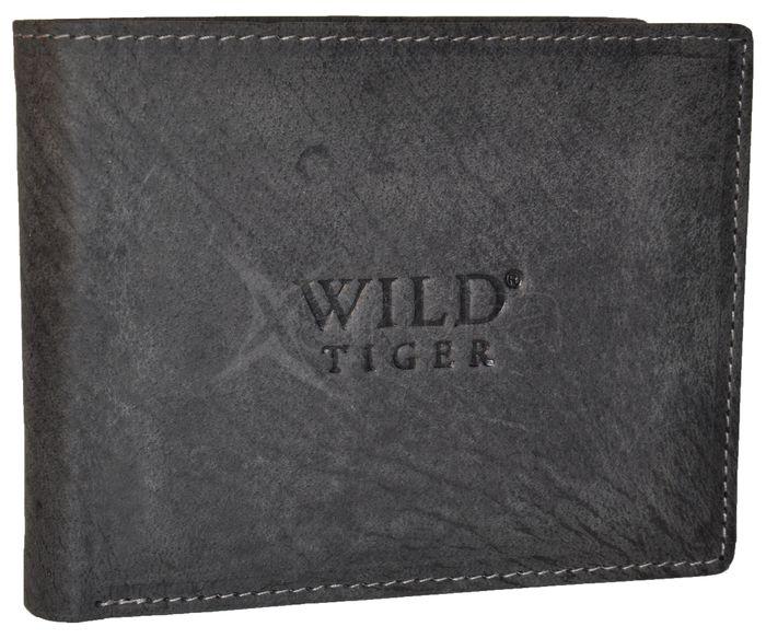 Pánska kožená peňaženka WILD TIGER - šedá - kabelkyaobuv.sk - Xandra ... 4ccf26a766