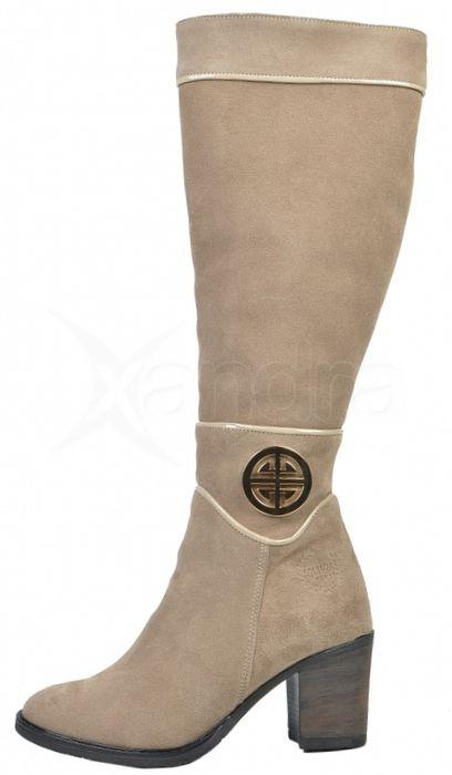 4731127a8656 Kožené béžové čižmy 2026 - Olivia Shoes - kabelkyaobuv.sk - Xandra ...