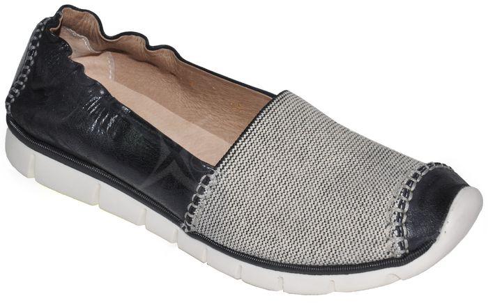 Dámska kožená obuv ROBSON - black white - kabelkyaobuv.sk - Xandra ... ab44153f60b