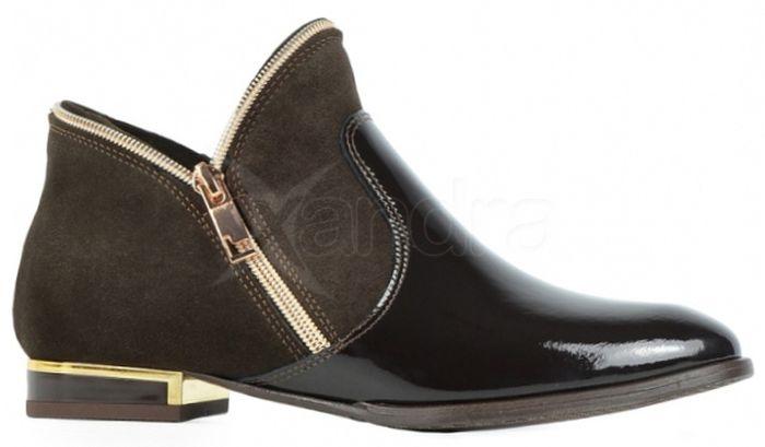 12aed9d3cb Kožené polokotníčky 812-1 Olivia Shoes - hnedé - kabelkyaobuv.sk ...