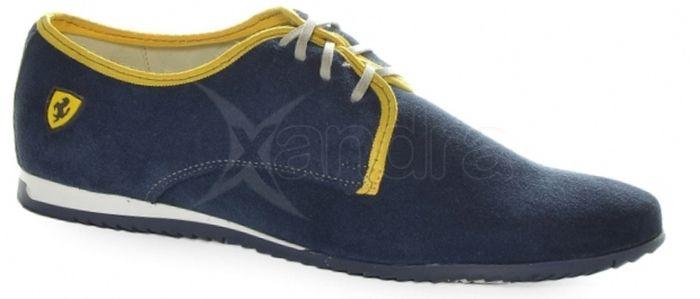 dfe7bd8474e2 Kožená pánska športová obuv 806 Olivia Shoes - modrá - kabelkyaobuv ...