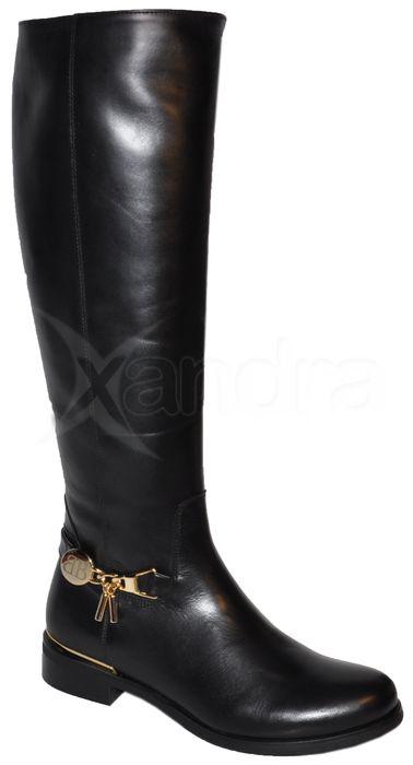 1056de3fd5 Elegantné kožené čižmy BADURA - čierne - kabelkyaobuv.sk - Xandra ...