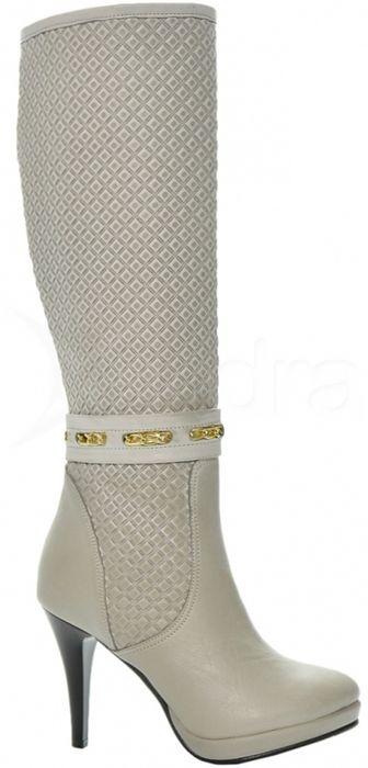 ba15492a7ad2e Kožené elegantné čižmy 821-1 - XS sára - OliviaShoes - kabelkyaobuv ...