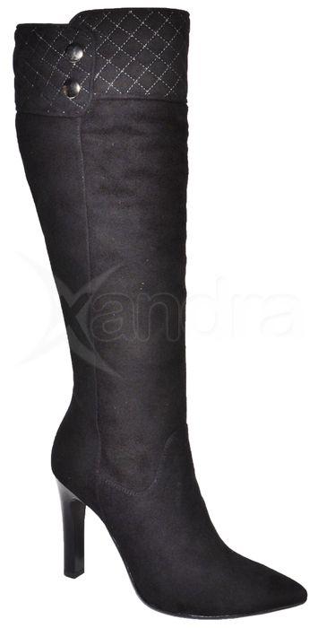 4ef3a88b0f Luxusné kožené čižmy VISCONI - čierne - kabelkyaobuv.sk - Xandra