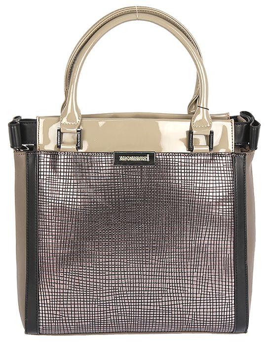 Elegantná kabelka MONNARI 0020 W16 - béžovo-hnedá - kabelkyaobuv.sk ... 7da085b8c4f
