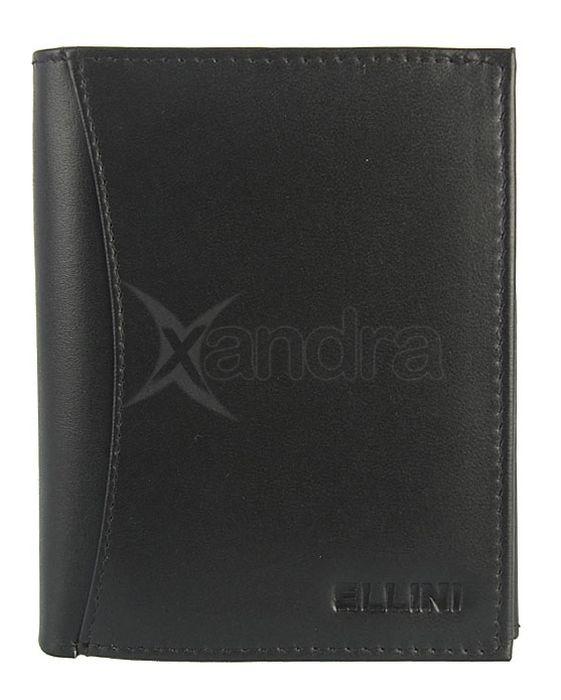 Pánska kožená peňaženka Ellini 9820 - 14-251 - čierna - kabelkyaobuv ... 0c5e728bf91