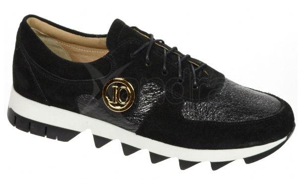 Dámske kožené tenisky Olivia Shoes K894-9849 - čierne - kabelkyaobuv.sk -  Xandra 111f798b1bb
