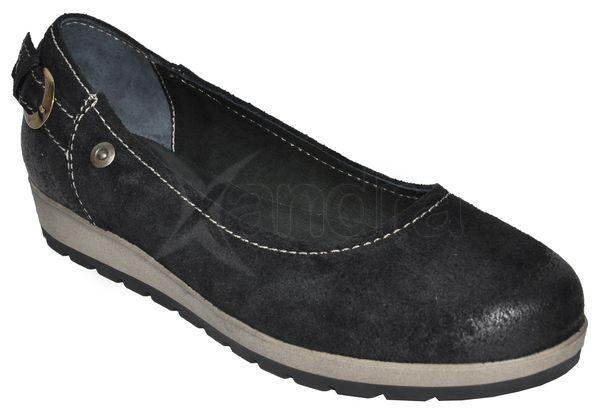 Dámska kožená vychádzková obuv LEMAR - čierne - kabelkyaobuv.sk ... beb8d84b715