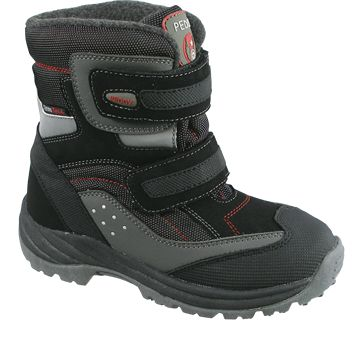 Detská zimná obuv - šedo-čierna - kabelkyaobuv.sk - Xandra d1e32b7268f