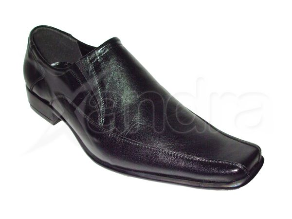 Pánska spoločenská obuv - čierna - kabelkyaobuv.sk - Xandra fb9a9bd1aea