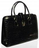 Dámska business taška Grosso - 9475 - čierna 690530cbe45