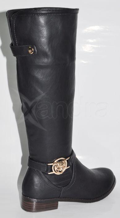 456624c5d6a3 Dámske elegantné čižmy EVENTO - čierne Dámske elegantné čižmy EVENTO -  čierne ...