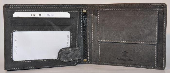 82d232e60 Pánska kožená peňaženka WILD TIGER - šedá - kabelkyaobuv.sk - Xandra ...
