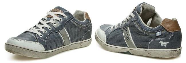 Pánska obuv 34A048 - MUSTANG - šedé - kabelkyaobuv.sk - Xandra 2154e030d6