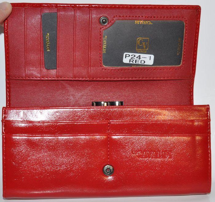 Elegantná kožená peňaženka CAVALDI - červená - kabelkyaobuv.sk ... 8a2800f07ad
