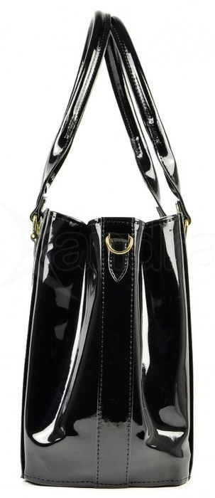 6734e697b4 Elegantná kabelka cez rameno S452 Grosso - čierna - kabelkyaobuv.sk ...