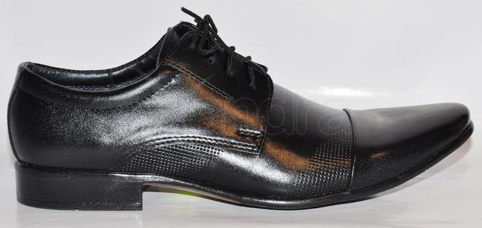 97cbf0e115 Pánske kožené spoločenské topánky - čierne - kabelkyaobuv.sk ...