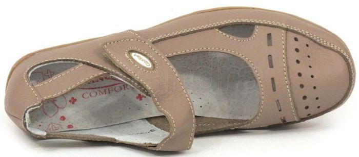 25a45bf96 Dámska kožená obuv LANQIER 34C551 - béžová - kabelkyaobuv.sk ...