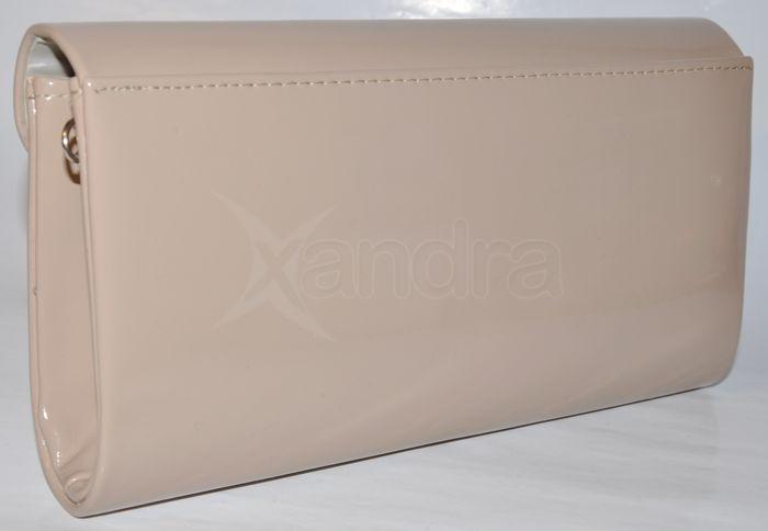 Spoločenská listová kabelka - béžová Spoločenská listová kabelka - béžová  ... 64d0c00a4fa