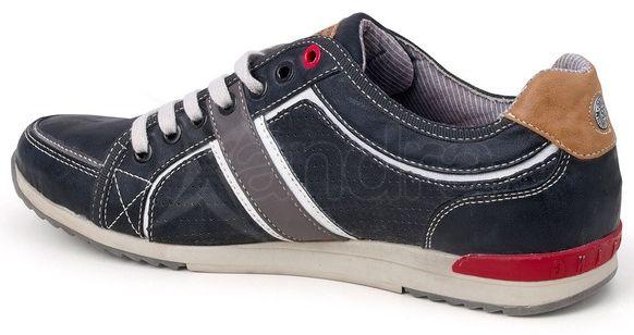 f3ec424cffe2c Pánske topánky MUSTANG 36A-067 - šedo-modré - kabelkyaobuv.sk ...