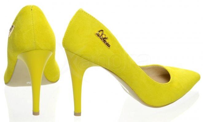 Kožené lodičky 944-1 OLIVIA SHOES 8751 - žlté - kabelkyaobuv.sk ... 476d1ad6b9