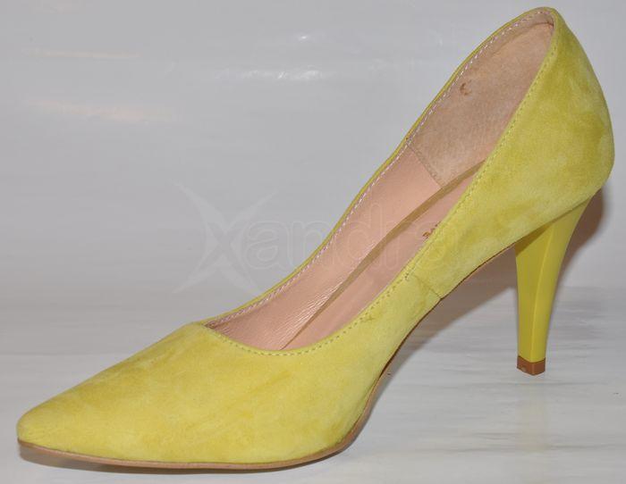 Dámske kožené lodičky Prima 8989 - žlté - kabelkyaobuv.sk - Xandra ... b720e75a85