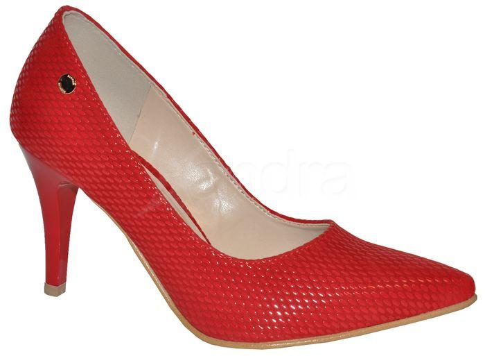0f53a8ede55c3 Dámske lodičky IVBUT 9141 - podpätok 8,5 cm - červené - kabelkyaobuv ...
