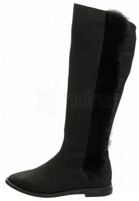 d72c491554ca ... Dámske kožené čižmy Olivia Shoes DCI 014 - čierne 9168 ...