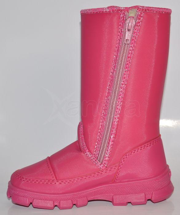 Detské zateplené snehule 9423 - ružové Detské zateplené snehule 9423 -  ružové 82498437662