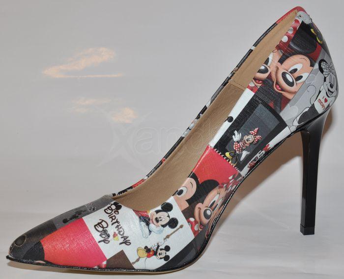 90b171d064 Dámske kožené lodičky Olivia Shoes 9559 - s potlačou - kabelkyaobuv ...