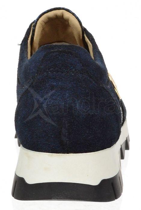 94a56874871e6 ... Dámske kožené tenisky Olivia Shoes K894 - 9850 - modré ...