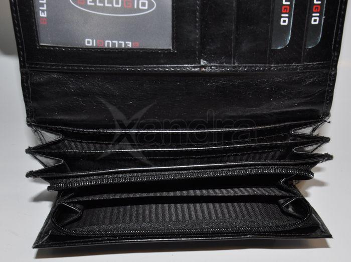 64b5341a7 Dámska kožená peňaženka Bellugio - 10053 - čierna - kabelkyaobuv.sk ...