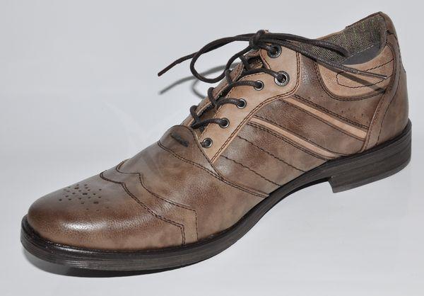 42608c1c55e06 Pánske štýlové topánky BRUNO BANANI - hnedé - kabelkyaobuv.sk ...