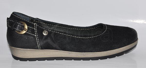 Dámska kožená vychádzková obuv LEMAR - čierne - kabelkyaobuv.sk ... afcef169a55