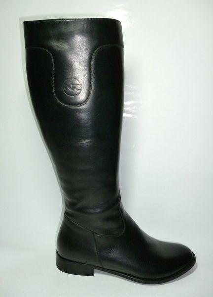 Kožené elegantné čižmy NICO RARINI - kabelkyaobuv.sk - Xandra acfd5ed883f