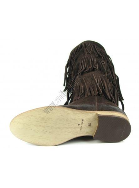 e25401708d Hnedé semišové čižmy C30 - Olivia shoes - kabelkyaobuv.sk - Xandra ...