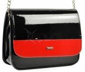 541eee9961 Elegantná crossbody taška M14 Grosso - čierno-červená