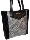 Štýlová kabelka leopard MONNARI - čierna 357a2cb39c6