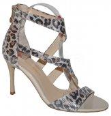 Štýlové kožené sandálky MACCIONI - leopard ca7ac916f22