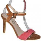 481098f4fc68b Elegantné kožené sandálky BIG STAR - rúžovo-hnedé