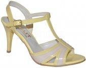 9a11d5f5975e Elegantné sandálky IVBUT - žlto-šedé