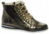 a3e6454a30871 Kožená členková obuv C634 OLIVIA SHOES 8233 - tmavo-zlaté