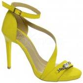 2ebd9da84 Kožené spoločenské sandále DSA002 OLIVIA SHOES 8941 - žlté