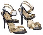 35f915f02828 Spoločenské sandále MONNARI 8949 - čierne