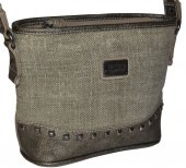 Dámska crossbody kabelka David Jones 9617 - khaki