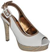 Biele lakové sandálky BRUNO BANANI 834512b4d3a