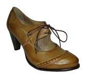 Dámska kožená obuv - hnedá ed8b0185c3d